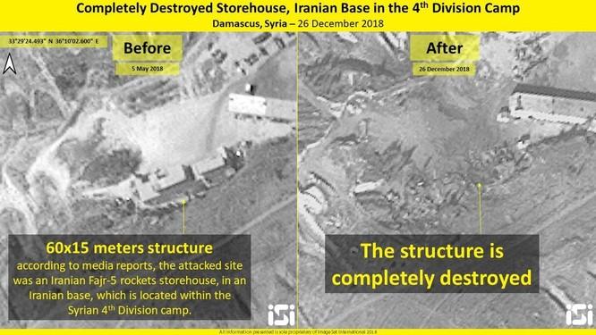 Truyền thông phương Tây đưa chi tiết cuộc không kích Syria của Israel ảnh 3