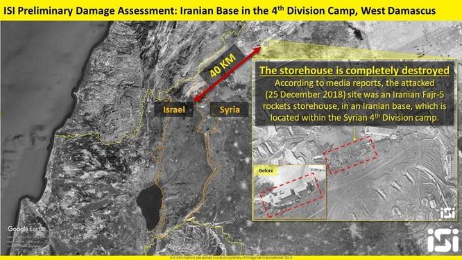 Truyền thông phương Tây đưa chi tiết cuộc không kích Syria của Israel ảnh 5