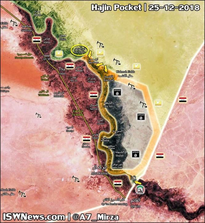 Dân quân Kurd - Ả rập đánh chiếm 1 làng diệt hơn 200 tay súng IS ảnh 1