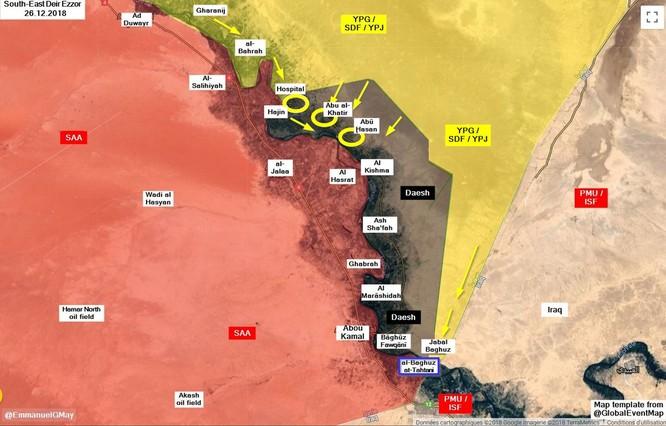 Dân quân Kurd - Ả rập đánh chiếm 1 làng diệt hơn 200 tay súng IS ảnh 2