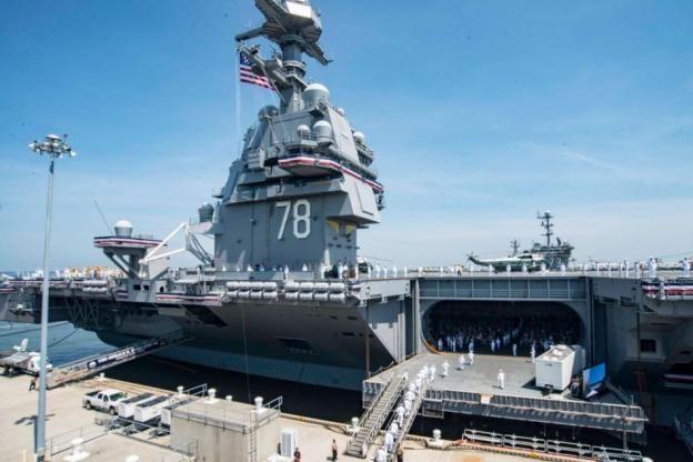 Mỹ thúc đẩy đóng tàu sân bay mới, quyết duy trì ưu thế hải quân trước Trung Quốc ảnh 1