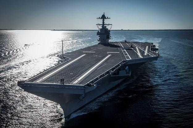 Mỹ thúc đẩy đóng tàu sân bay mới, quyết duy trì ưu thế hải quân trước Trung Quốc ảnh 3