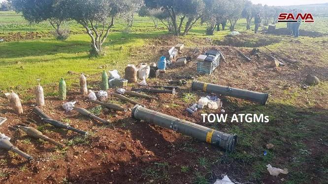 """Quân đội Syria phát hiện một kho vũ khí bí mật của """"quân nổi dậy"""" ở tỉnh Homs ảnh 1"""