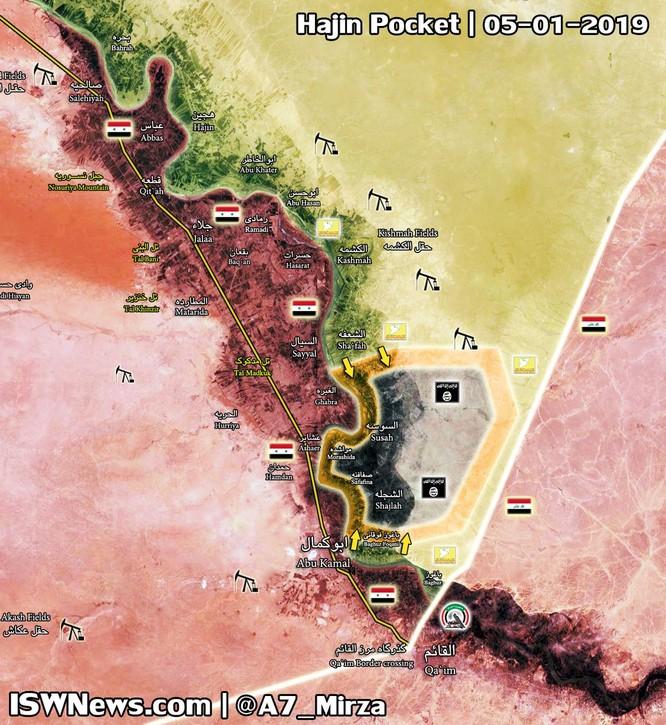 Dân quân người Kurd chiếm thêm một thị trấn thuộc Deir Ezzor, IS đến ngày tận số ở Syria ảnh 1