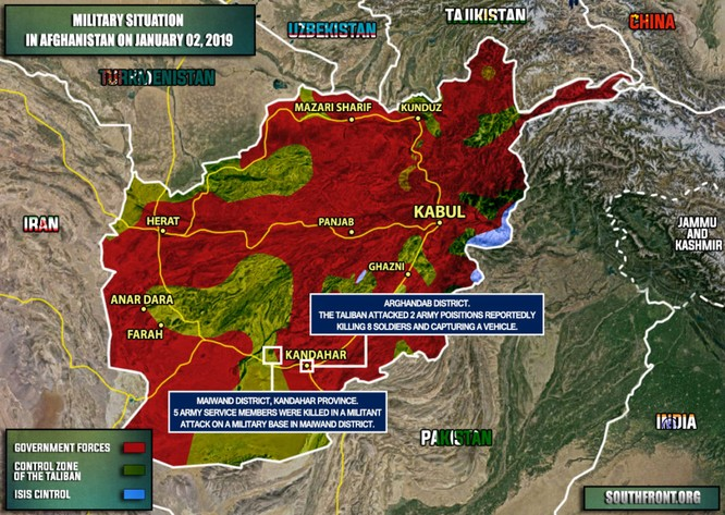 Taliban đánh bom vệ đường, 4 lính Mỹ đi tuần thiệt mạng ở Afghanistan ảnh 1