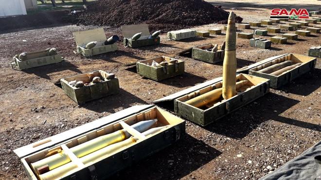 Quân đội Syria thu giữ một số lượng lớn vũ khí của phe Hồi giáo cực đoan ảnh 2