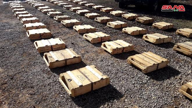 Quân đội Syria thu giữ một số lượng lớn vũ khí của phe Hồi giáo cực đoan ảnh 3