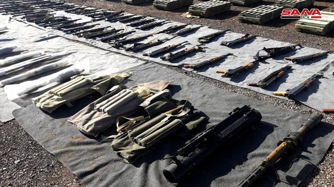 Quân đội Syria thu giữ một số lượng lớn vũ khí của phe Hồi giáo cực đoan ảnh 5