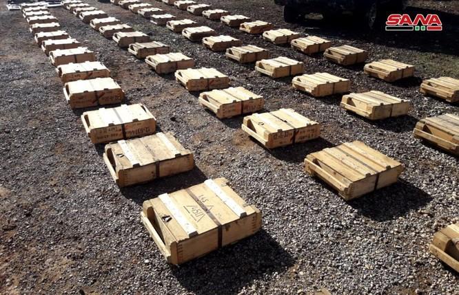 Quân đội Syria thu giữ một số lượng lớn vũ khí của phe Hồi giáo cực đoan ảnh 6
