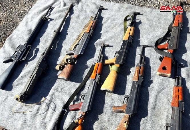 Quân đội Syria thu giữ một số lượng lớn vũ khí của phe Hồi giáo cực đoan ảnh 7