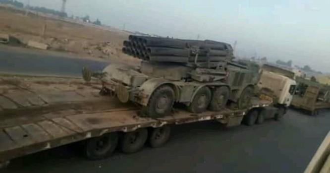 Quyết tiêu diệt khủng bố, quân đội Syria điều động pháo phản lực hạng nặng Uragan tới Idlib ảnh 2