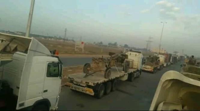 Quyết tiêu diệt khủng bố, quân đội Syria điều động pháo phản lực hạng nặng Uragan tới Idlib ảnh 4