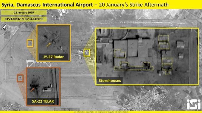 Israel công bố kết quả không kích, vũ khí bị phá hủy có thể là tên lửa phòng không S-125 ảnh 1