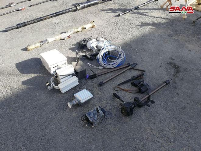 An ninh quân đội Syria lại thu giữ nhiều vũ khí chôn giấu của các nhóm thánh chiến ở Damascus ảnh 3