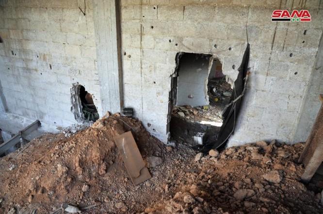 """Chiến binh Hamas Palestine đã giúp """"quân nổi dậy"""" kiến tạo đường hầm tại Damascus, Syria ảnh 3"""