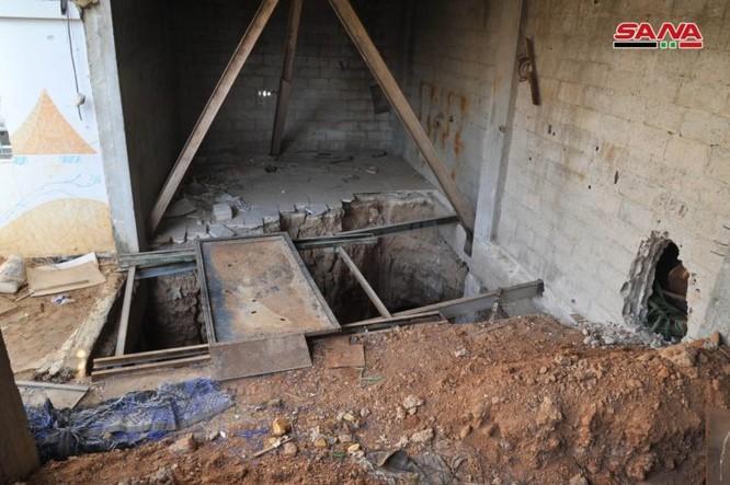 """Chiến binh Hamas Palestine đã giúp """"quân nổi dậy"""" kiến tạo đường hầm tại Damascus, Syria ảnh 4"""