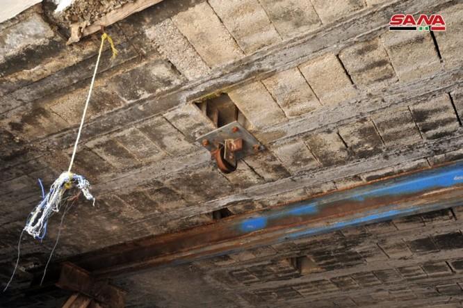 """Chiến binh Hamas Palestine đã giúp """"quân nổi dậy"""" kiến tạo đường hầm tại Damascus, Syria ảnh 5"""