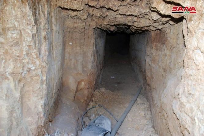 """Chiến binh Hamas Palestine đã giúp """"quân nổi dậy"""" kiến tạo đường hầm tại Damascus, Syria ảnh 8"""