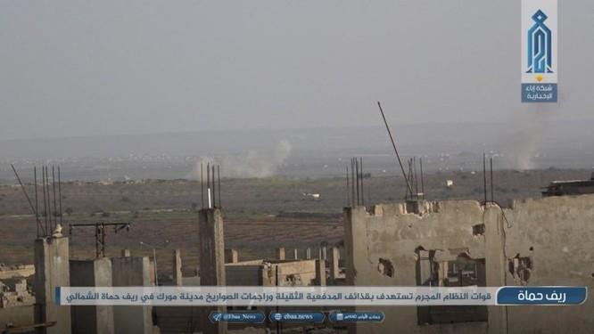 Pháo binh – tên lửa Syria tiêu diệt 3 tay súng thánh chiến ở Hama ảnh 3