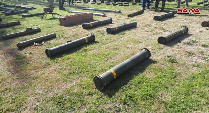 """Quân đội Syria tiếp tục mùa thu hoạch vũ khí trang bị của """"quân nổi dậy"""" ảnh 1"""
