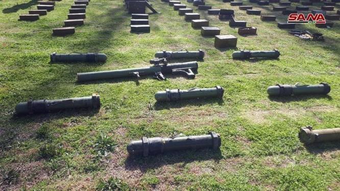 """Quân đội Syria tiếp tục mùa thu hoạch vũ khí trang bị của """"quân nổi dậy"""" ảnh 2"""