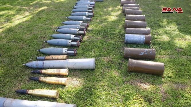 """Quân đội Syria tiếp tục mùa thu hoạch vũ khí trang bị của """"quân nổi dậy"""" ảnh 4"""