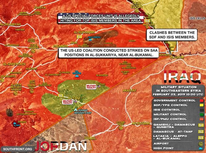 Sau khi Mỹ ném bom, quân đội Syria bẻ gãy 2 cuộc tấn công của IS ở Deir Ezzor ảnh 1
