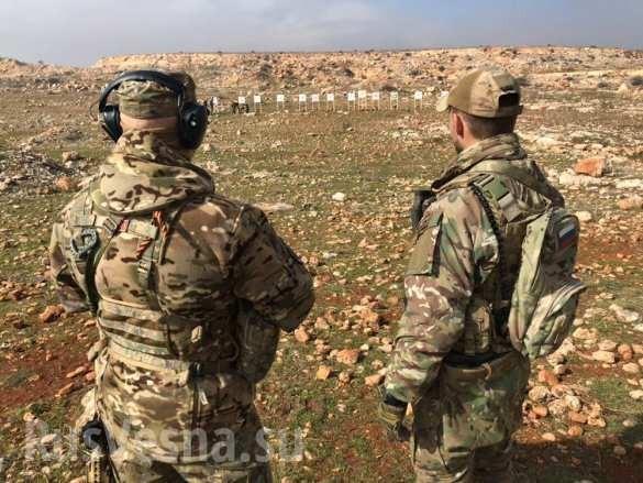 Lính đánh thuê Nga huấn luyện binh sĩ Syria ngay trên chiến trường chống khủng bố ảnh 8