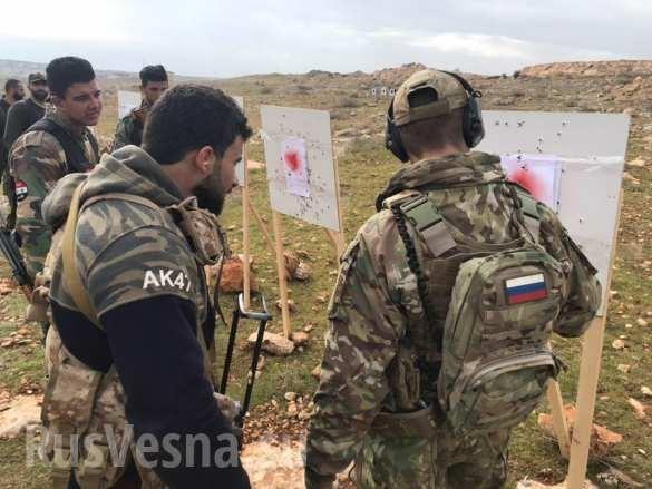 Lính đánh thuê Nga huấn luyện binh sĩ Syria ngay trên chiến trường chống khủng bố ảnh 9