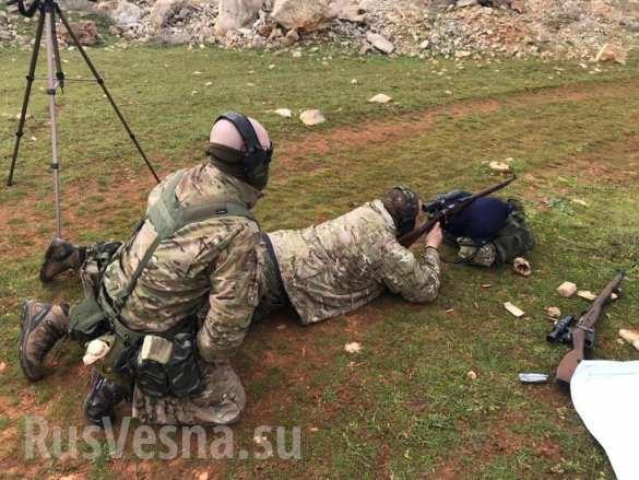 Lính đánh thuê Nga huấn luyện binh sĩ Syria ngay trên chiến trường chống khủng bố ảnh 12