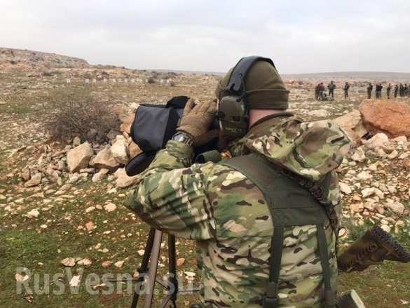 Lính đánh thuê Nga huấn luyện binh sĩ Syria ngay trên chiến trường chống khủng bố ảnh 13