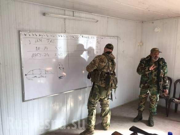 Lính đánh thuê Nga huấn luyện binh sĩ Syria ngay trên chiến trường chống khủng bố ảnh 16