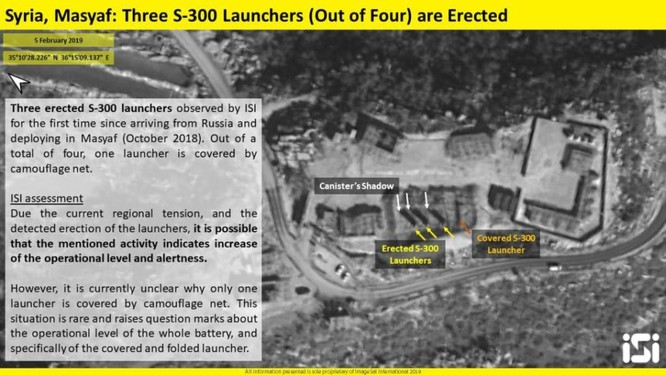 Israel công bố ảnh vệ tinh khẳng định S-300 của Syria đã sẵn sàng chiến đấu ảnh 1
