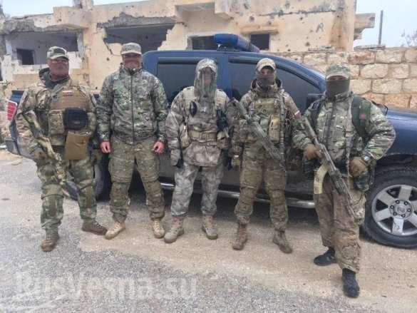 Công ty quân sự tư nhân Nga chính thức công khai huấn luyện cho quân tình nguyện Syria ảnh 8