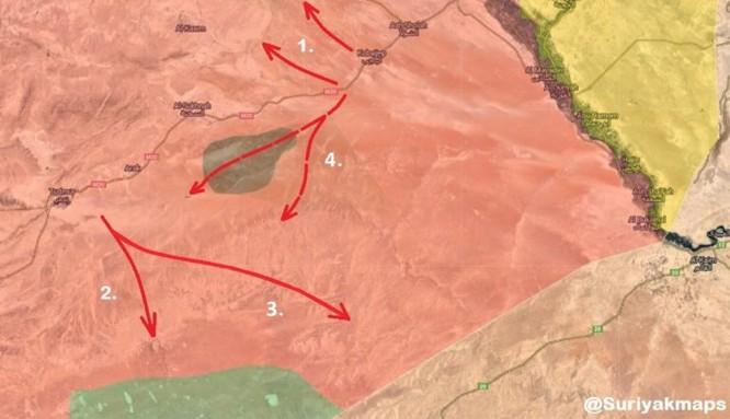 """Syria truy quét IS trên sa mạc - Nga """"diệt tư tưởng thánh chiến"""" ảnh 1"""