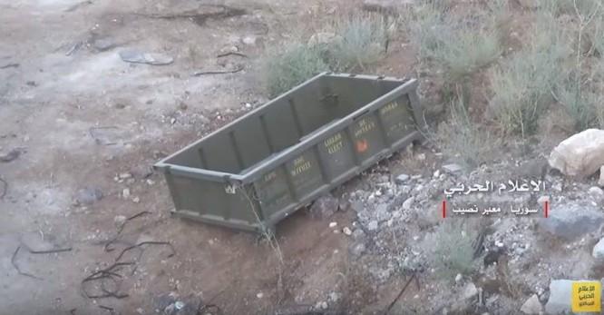 Quân đội Syria phát hiện vũ khí đặc chủng của Mỹ ở Quneitra ảnh 3