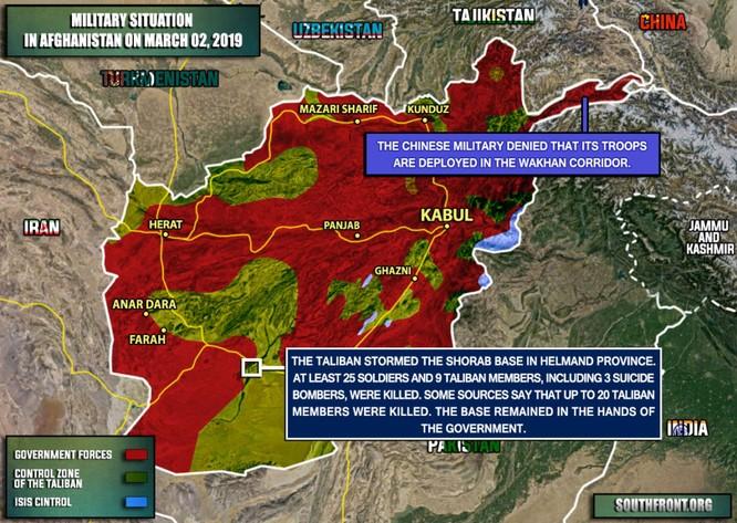 Taliban tấn công căn cứ quân sự có lính Mỹ ảnh 1