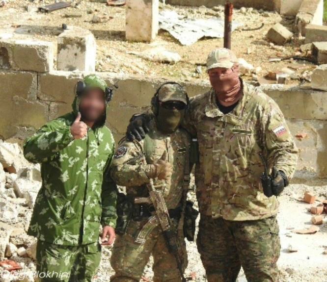 Quân tình nguyện Palestine kết thúc khóa huấn luyện với lính đánh thuê Nga ảnh 3