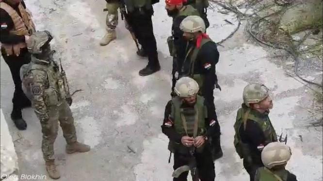 Quân tình nguyện Palestine kết thúc khóa huấn luyện với lính đánh thuê Nga ảnh 4
