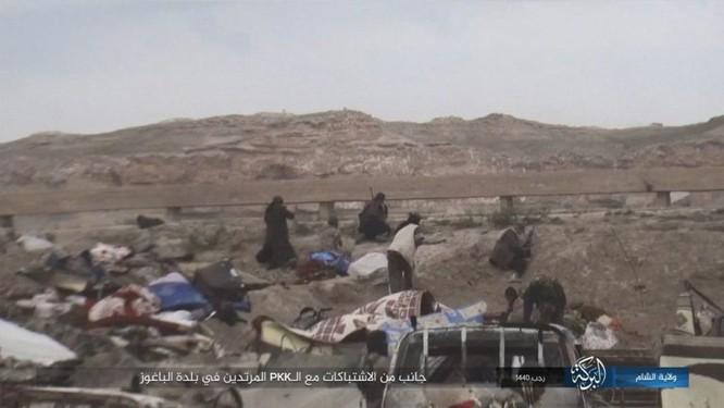 IS chống trả quyết liệt, tử chiến ở al-Baghuz, Deir Ezzor ảnh 5