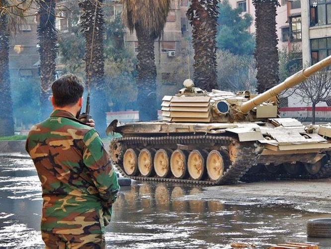 Syria tự cải tiến lực lượng tăng thiết giáp, bài học sống còn trên chiến trường? ảnh 4
