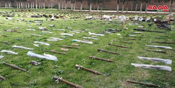 Quân đội Syria tiếp tục thu hoạch số lượng lớn vũ khí trang bị có nguồn gốc phương Tây ảnh 6