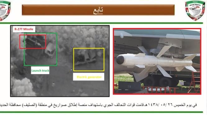 Du kích Houthi tự chế tên lửa phòng không diệt drone Mỹ ảnh 2