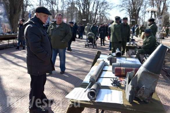 """""""Nước mắt Donbass"""" Lugansk và Donetsk tổ chức triển lãm chứng tích chiến tranh ảnh 2"""