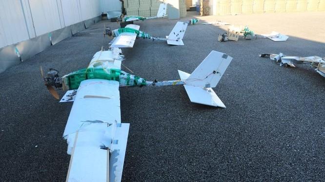 Phòng không Syria bắn hạ UAV tương tự vụ hạ hàng loạt máy bay tập kích căn cứ Khmeimim ảnh 1