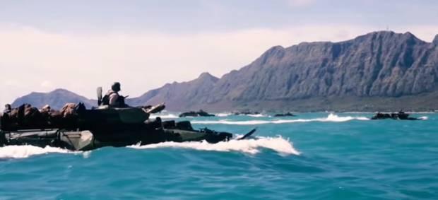 Răn đe Trung Quốc, thủy quân lục chiến Mỹ thực hành chiếm đảo ảnh 4