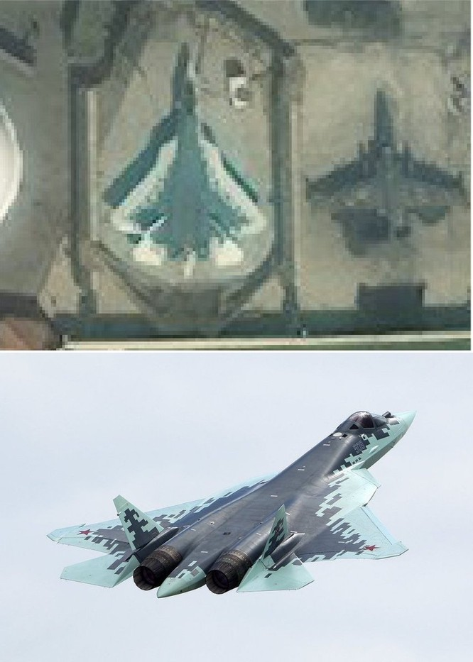 Nga bất ngờ triển khai tiêm kích Su-57 đến Khmeimim, Latakia Syria ảnh 8