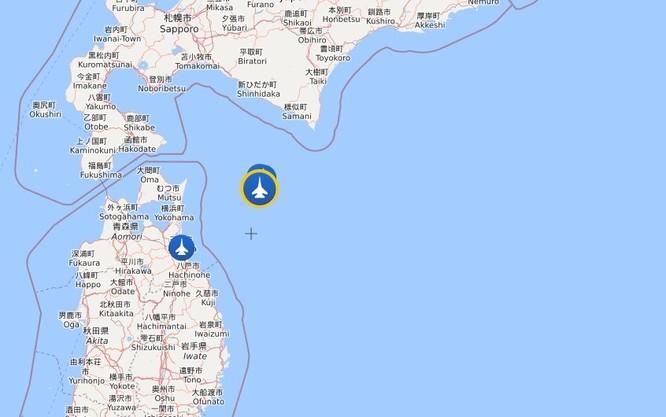 Máy bay tàng hình F-35A Nhật Bản mất tích trên Thái Bình Dương ảnh 1