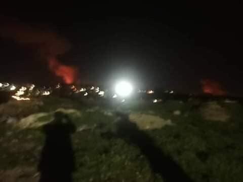 Israel bất ngờ không kích ở Hama, 3 binh sĩ Syria bị thương ảnh 1