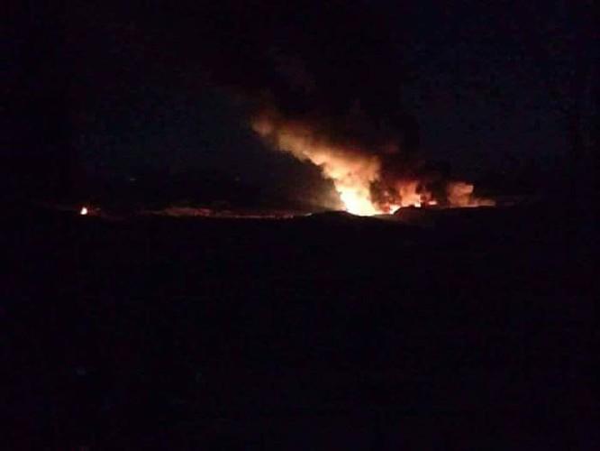 Israel bất ngờ không kích ở Hama, 3 binh sĩ Syria bị thương ảnh 2